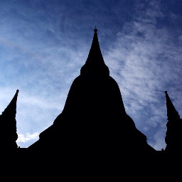 thailand travel sky photography temple