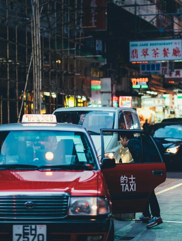 #taxi #china #fujifilm #asia #hongkong