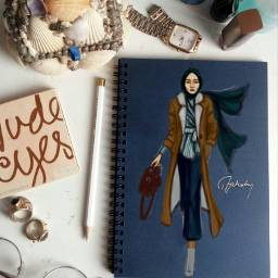 winterfashion fashionillustration hijab hijabfashion hijaber freetoedit