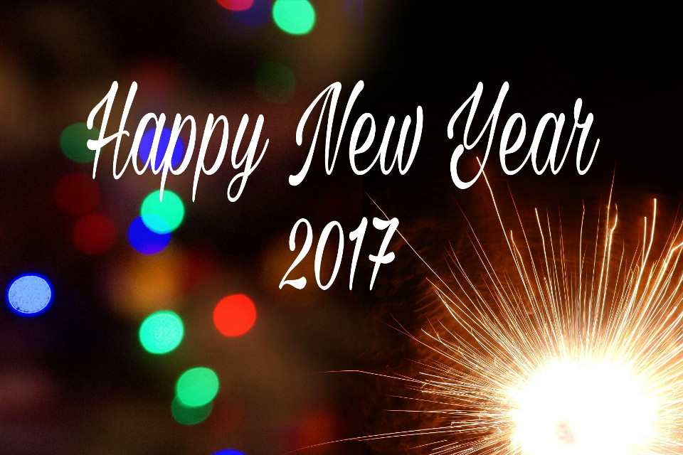 Happy New Year 2017 all ☺