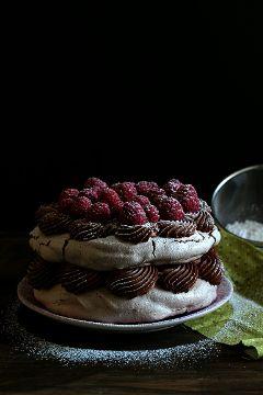 sweet cakepuntcom pavlova chocolat photography