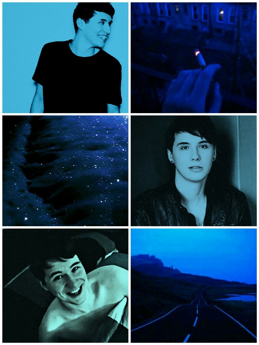 Follow me on IG! @outcast.in.the.shadows  #request  #danisnotonfire  #danhowell  #midnightblue  #blue  #aesthetic