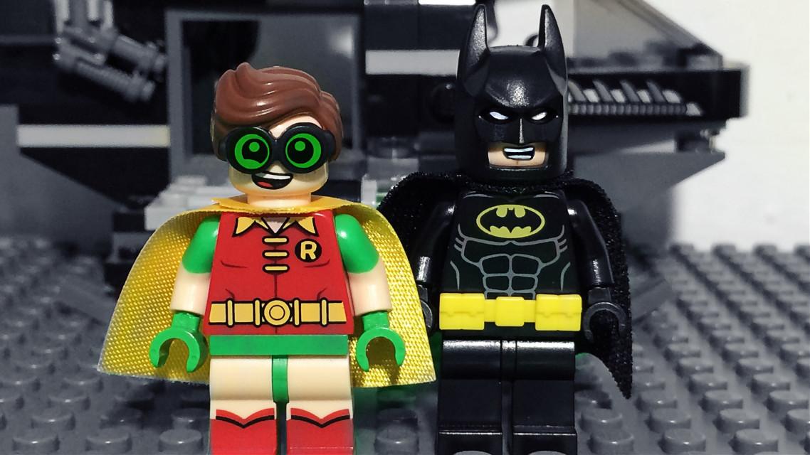 The Dymanic Duo. #LEGO #LEGOBatmanMovie #FreeToEdit