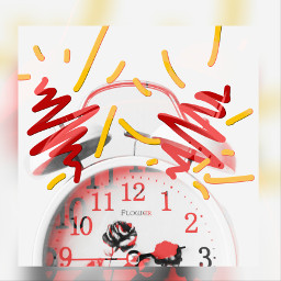 freetoedit timeremix colorplay alarmclock timeflies
