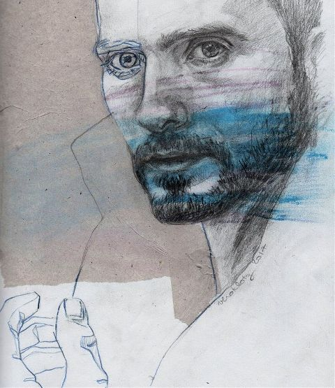 #drawing,#mixedmedia,#sketch