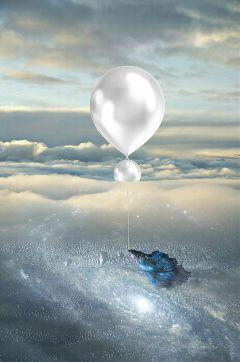 balloon dream clipart artistic surreal