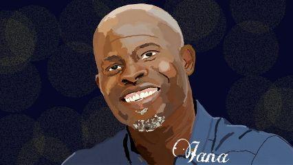 portrait drawing djimon hounsou