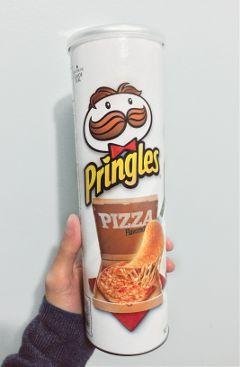 pizza pringles food photography photo