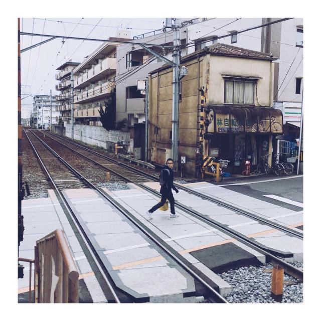 一乘寺駅  #japan #京都 #大阪 #奈良 #vsco #picart  #instagram