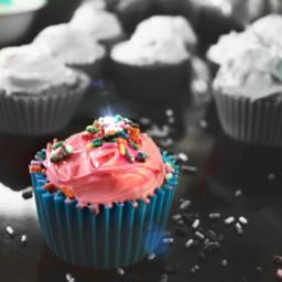 freetoedit cupcake pinkandblue