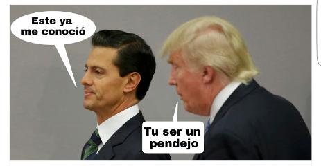 peñanieto president presidente pendejo burro