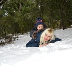 freetoedit remixit snow baby nieve