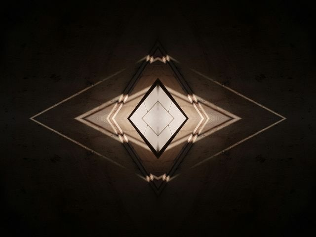 abstract myart symmetry photomanipulation geometry