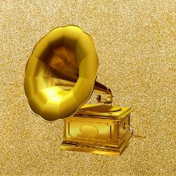 FreeToEdit gramaphone gold