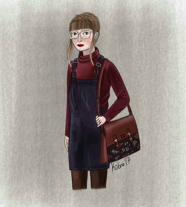 Instagram: kubramuderris   #FreeToEdit #art #drawing #digitalart #illustration #doodle