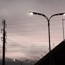 sky photography railway art freetoedit