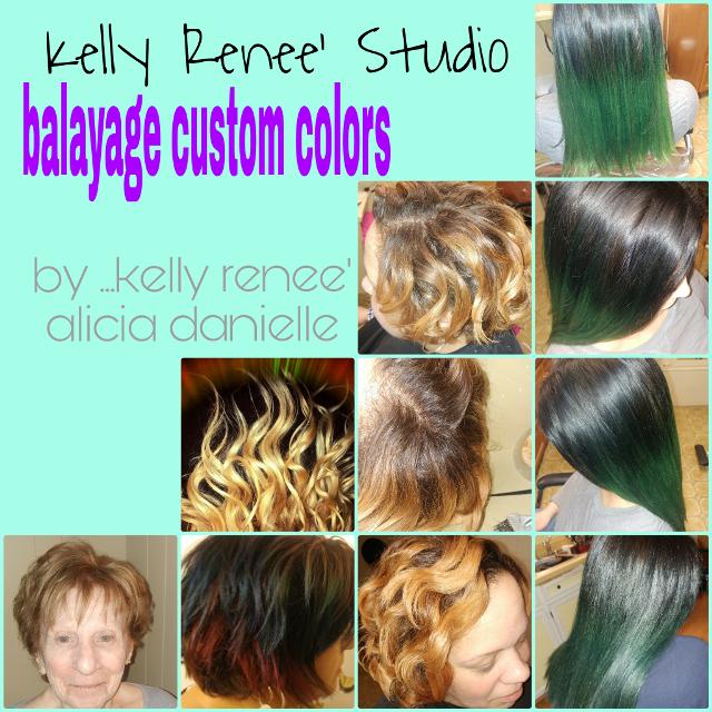 "New ""oil slick"" mermaid green #neoncolors  #customcolors  #balayage #shadowregrowth #vivids  #colormelt  #coopergold  #kellyreneestudio #aliciadanielle #tooncesruby"