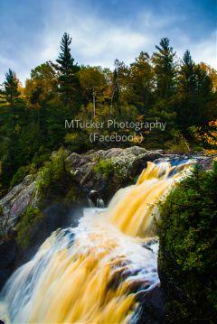 gabbrofalls michigan travel landscape waterfall