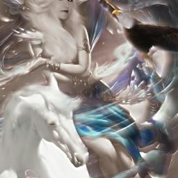 fantasyart fantastic mezclas emotions efectospicsart