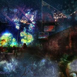 freetoedit galaxy collage juxtaposition night