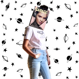 FreeToEdit girl bookface kendalljenner