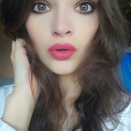 me eyes lips hair model freetoedit