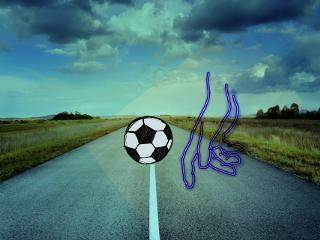 fingers football roads freetoedit
