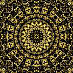 freetoedit abstract popart golden digital