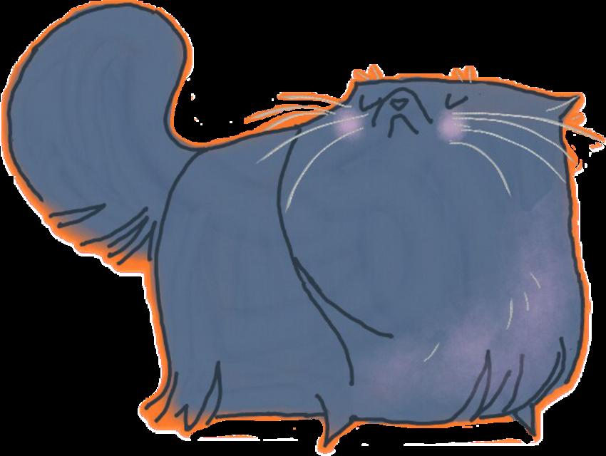 #ftestickers #FreeToEdit  #cat #illustration