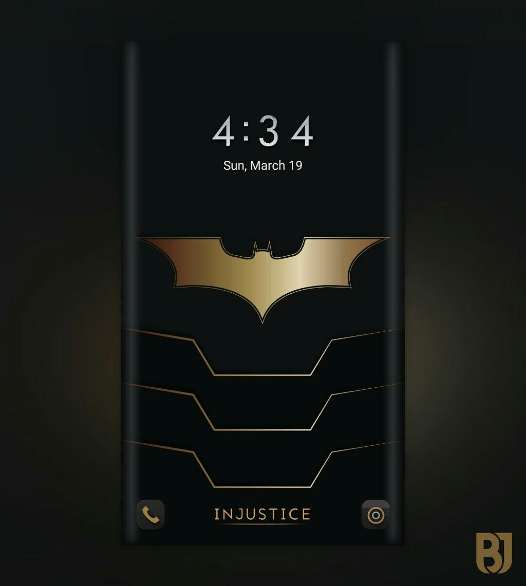 Get The Batman Wallpaper For Injustice Theme By Me Zed