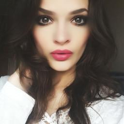 me girl eyes lips hair freetoedit