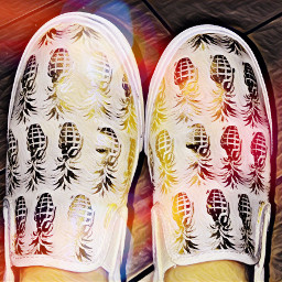 pineapple granade shoes