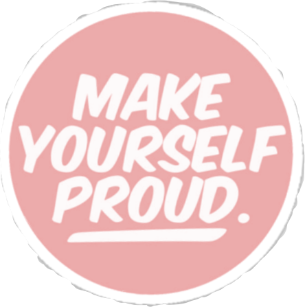#make #yourself #proud #kawaii #pastel #aesthetic #quote#FreeToEdit