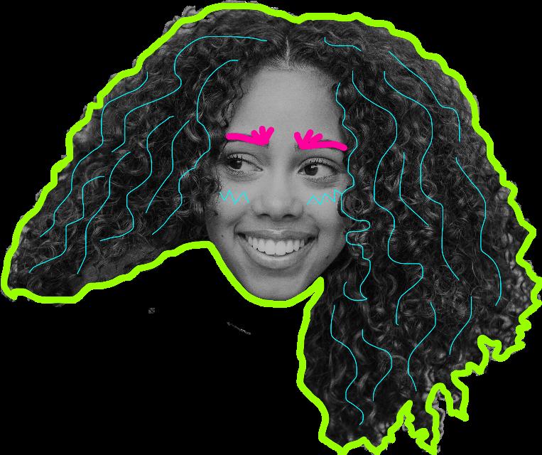 #art #drawn #portrait #sticker #ftestickers