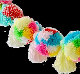 pompomballs pompoms yarnball yarnart tassel freetoedit