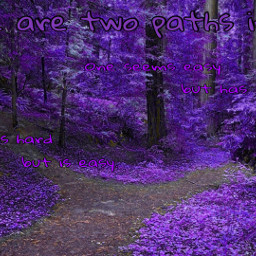 quotes purple wood paths freetoedit
