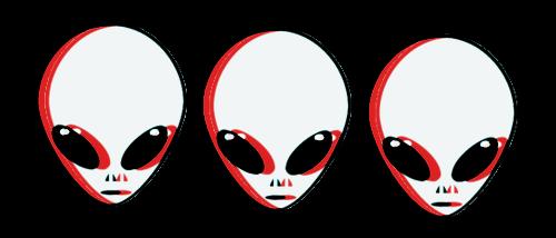 aliens alien tumblr 3d threedimensional