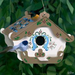 wdpbirdhouse drawnwithpicsart phoneart