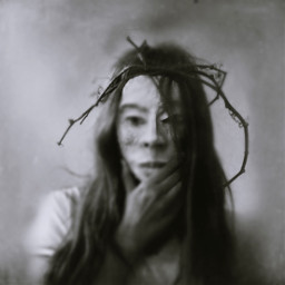 interesting portrait mask photography
