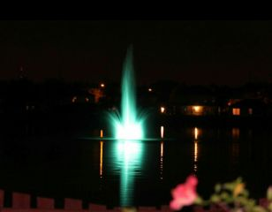 water waterreflection night green colorful