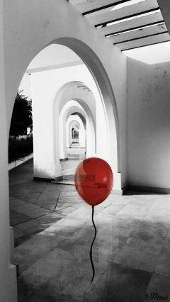 freetoedit remix red balloon myedit